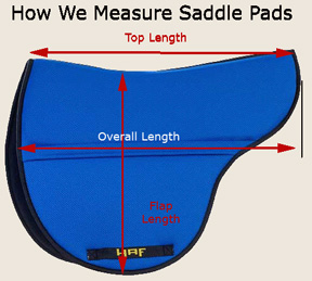 How To Size an English Saddle Pad